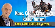 Kars, Çıldır, Erzurum#039;a kültür turizmi