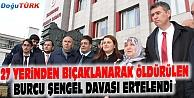 BAROLAR BİRLİĞİ BAŞKANI BURCU ŞENGEL DAVASINA KATILDI