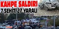 DİYARBAKIR'DA HAİN SALDIRI: 7 ŞEHİT
