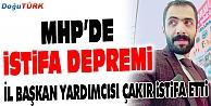 MHPDE İSTİFA ŞOKU