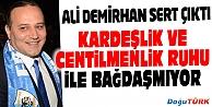 BB ERZURUMSPOR KULÜP BAŞKANI DEMİRHANDAN SALDIRIYA KINAMA