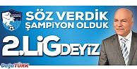 BB ERZURUMSPOR ŞAMPİYON OLDU