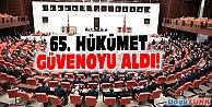 65. HÜKÜMET GÜVENOYU ALDI!