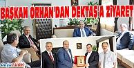 BAŞKAN ORHAN'DAN KKTC BAŞBAKAN YARDIMCISI DENKTAŞ'A ZİYARET