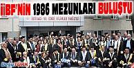 İKTİSADİ VE İDARİ BİLİMLER FAKÜLTESİ 1986 YILI MEZUNLARI BULUŞTU
