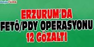 ERZURUM MERKEZLİ 5 İLDE FETÖ/PDY OPERASYONU
