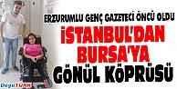 ERZURUMLU GENÇ GAZETECİ'DEN ÖRNEK HİZMET