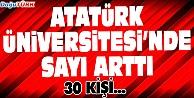ATATÜRK ÜNİVERSİTESİ#039;NDE SAYI ARTTI