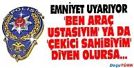 KARAYOLLARINDA DOLANDIRICILIK FAALİYETLERİNE DİKKAT!