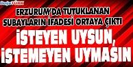 KURMAY ALBAYDAN DARBE GECESİ TALİMATI: İSTEYEN UYSUN, İSTEMEYEN UYMASIN