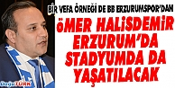 BB ERZURUMSPOR'DAN KAHRAMAN ŞEHİDE VEFA