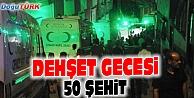 GAZİANTEPTE BOMBALI SALDIRI: 50 ŞEHİT