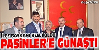 MHP PASİNLER İLÇE BAŞKANI BELLİ OLDU