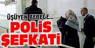 POLİS MEMURUNDAN ŞEFKAT ÖRNEĞİ