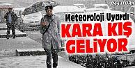 METEOROLOJİ UYARDI; DOĞU ANADOLU#039;YA KAR GELİYOR