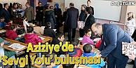 AZİZİYEDE 'SEVGİ YOLU BULUŞMASI