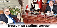 ERZURUM'UN CAZİBESİ ARTIYOR