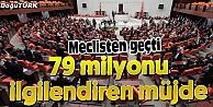 İŞTE 79 MİLYONU İLGİLENDİREN TORBA YASA