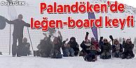 PALANDÖKENDE KADINLARIN LEĞEN-BOARD KEYFİ