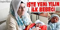 """YENİ YILIN İLK BEBEĞİ EYMEN"""" OLDU"""