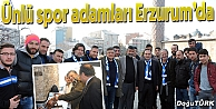 YILMAZ VURAL: FUTBOLUN KALBİ ERZURUM'DA ATACAK