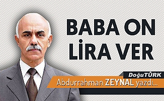 BABA ON LİRA VER