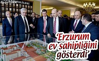 BAKAN SOYLU'DAN VALİ AZİZOĞLU'NA ZİYARET