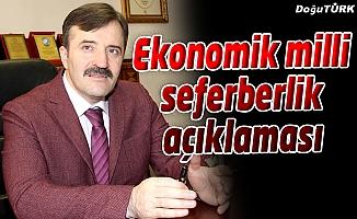 STP'DEN EKONOMİK MİLLİ SEFERBERLİK AÇIKLAMASI