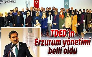 TDED ERZURUM ŞUBESİ, İLK OLAĞAN GENEL KURULUNU YAPTI
