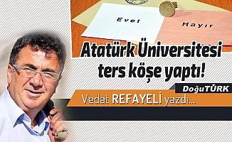 Atatürk Üniversitesi ters köşe yaptı!