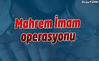 Erzurum'da 18 kişi yakalandı