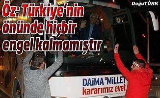 Erzurum gurur verdi