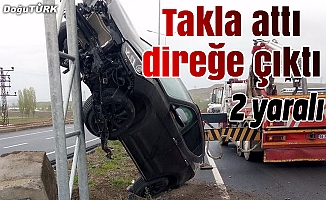 Erzurum'da ilginç kaza