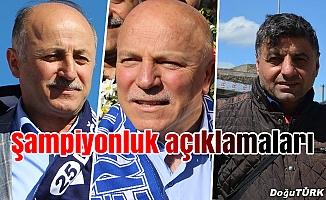 Erzurum'da TFF 1. Lig sevinci