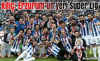 Erzurum önemli bir futbol şehri