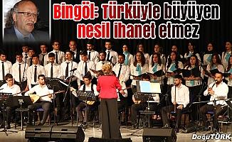 Gençlik Korosu'ndan Türkü gecesi