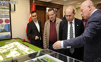 Milletvekili Kuzu Sekmen'i ziyaret etti