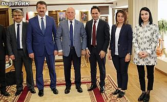 THSK Başkan Yardımcısı Başaralı'dan Başkan Sekmen'e ziyaret