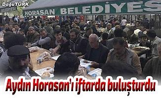 Başkan Aydın'dan iftar yemeği