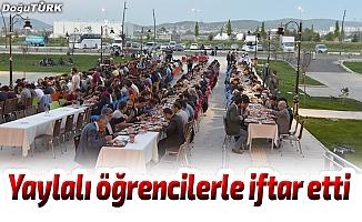 ETÜ Öğrenci Konseyi'nden iftar yemeği