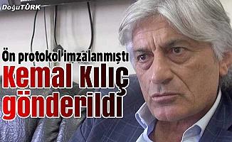Kemal Kılıç ile ipler koptu