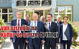 Vali Azizoğlu ziyaret etti