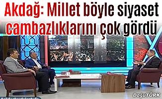 Bakan Akdağ: Kılıçdaroğlu dilinin altındaki baklayı çıkarsın
