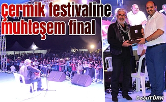 Çermik Festivali'nde muhteşem final