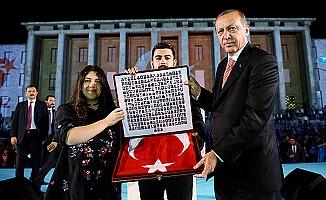 Cumhurbaşkanı Erdoğan: Devlet ve millet olarak güçlü olmak zorundayız