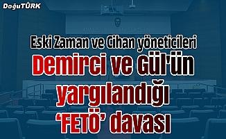 """Demirci ve Gül'ün yargılandığı """"FETÖ"""" davası"""