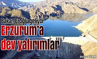 Erzurum'da 592 milyonluk 38 tesis yapılacak