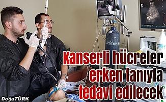 Kanserli hücreler erken tanıyla tedavi edilecek