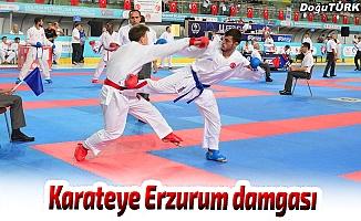 Karateye Erzurum damgası