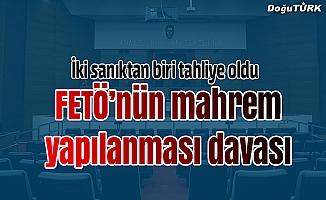 """Mahrem yapılanmada bulunduğu iddia edilen 2 sanığın """"FETÖ"""" davası"""